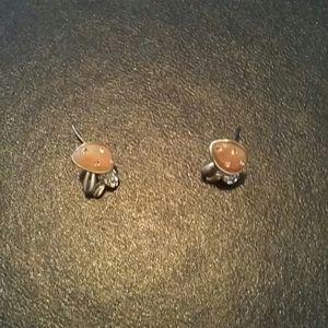 Mushroom earrings for Girls
